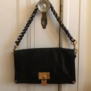 Clutch purse with strap you can keep on Or remove!
